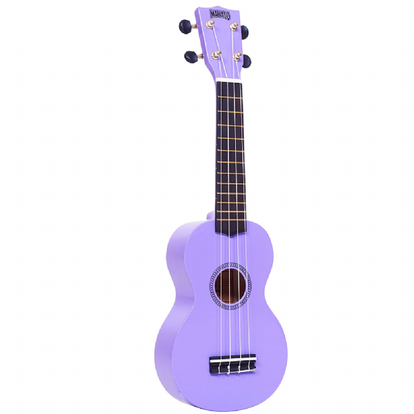 mahalo ukulele in purple rainbow series soprano ukulele mr1pp. Black Bedroom Furniture Sets. Home Design Ideas